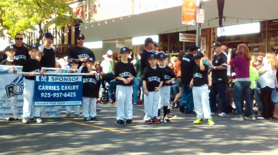 Martinez Youth Baseball Parade