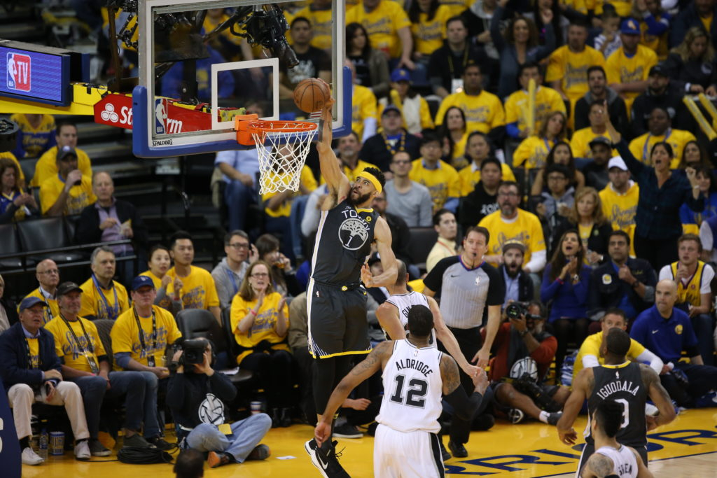 Golden State Warriors vs San Antonio Spurs2018 NBA First Round Playoffs