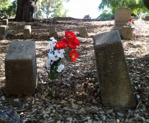 19th century graves in the Alhambra Cemetery