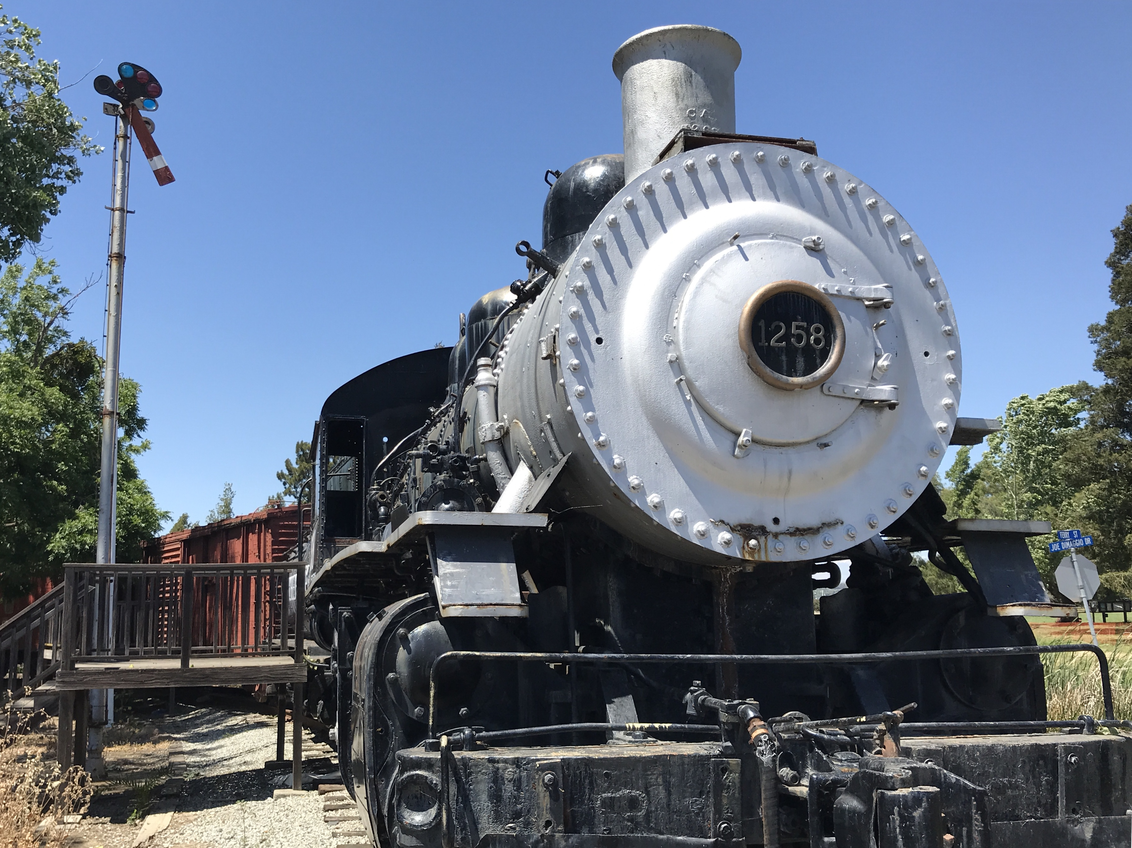 Martinez's short-lived railroad club kept SP 1258 in town : Martinez  News-Gazette