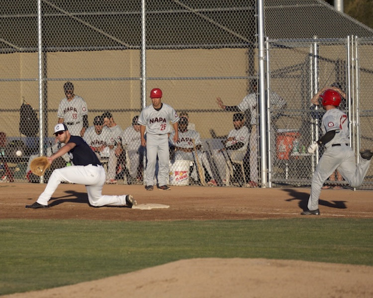 MTZ Clippers vs Napa SilveradoPhotos by Mark Fierner(Martinez News-Gazette)