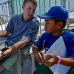 A day at the Ballpark: Henry keeps score