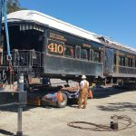 Historical Society moves 'Vic Stewart's' railcar to Martinez