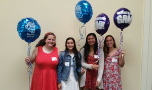 Pleasant Hill-Martinez AAUW Local Scholarship recipients