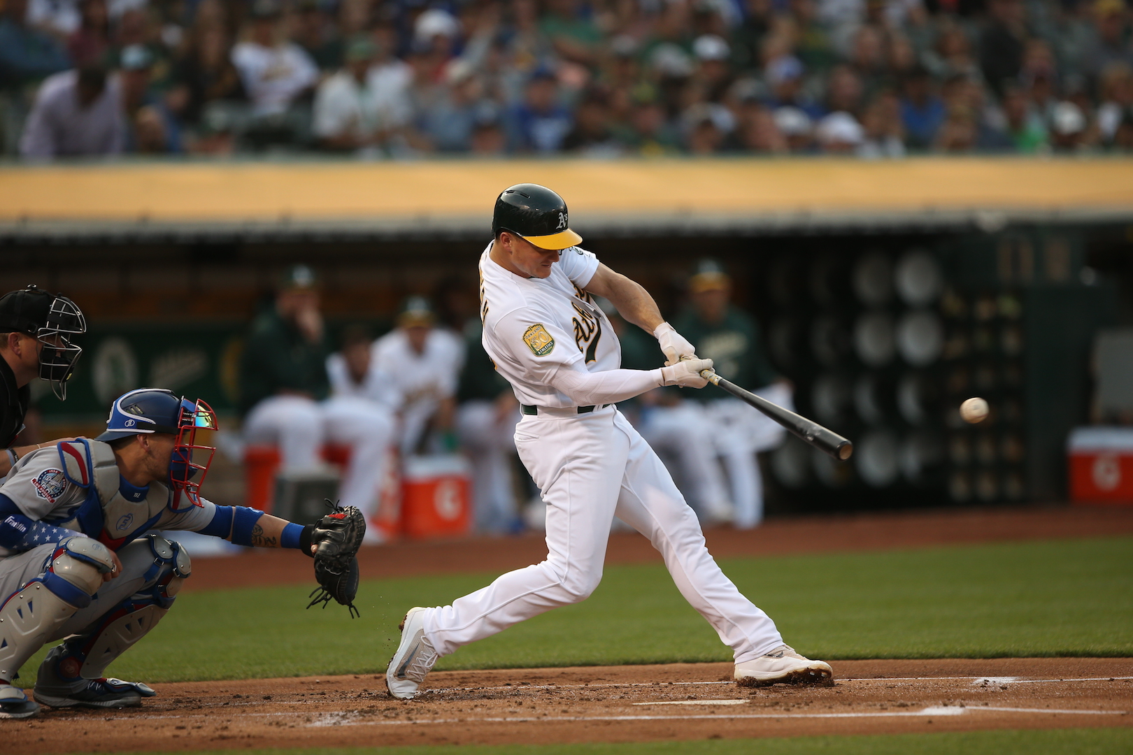 __A's,Dodgers_08-08-18_0349