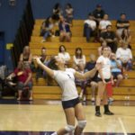 Alhambra Girls Volleyball vs Las Lomas. Photo Gallery