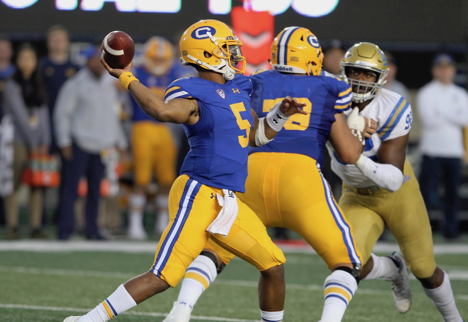 Cal Bears vs  UCLA
