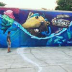 Artist's beaver mural attracts attention