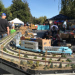 Open house turns parking lot into model railroaders' delight