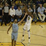 Warriors take down Grizzlies 117-101 (photo gallery)