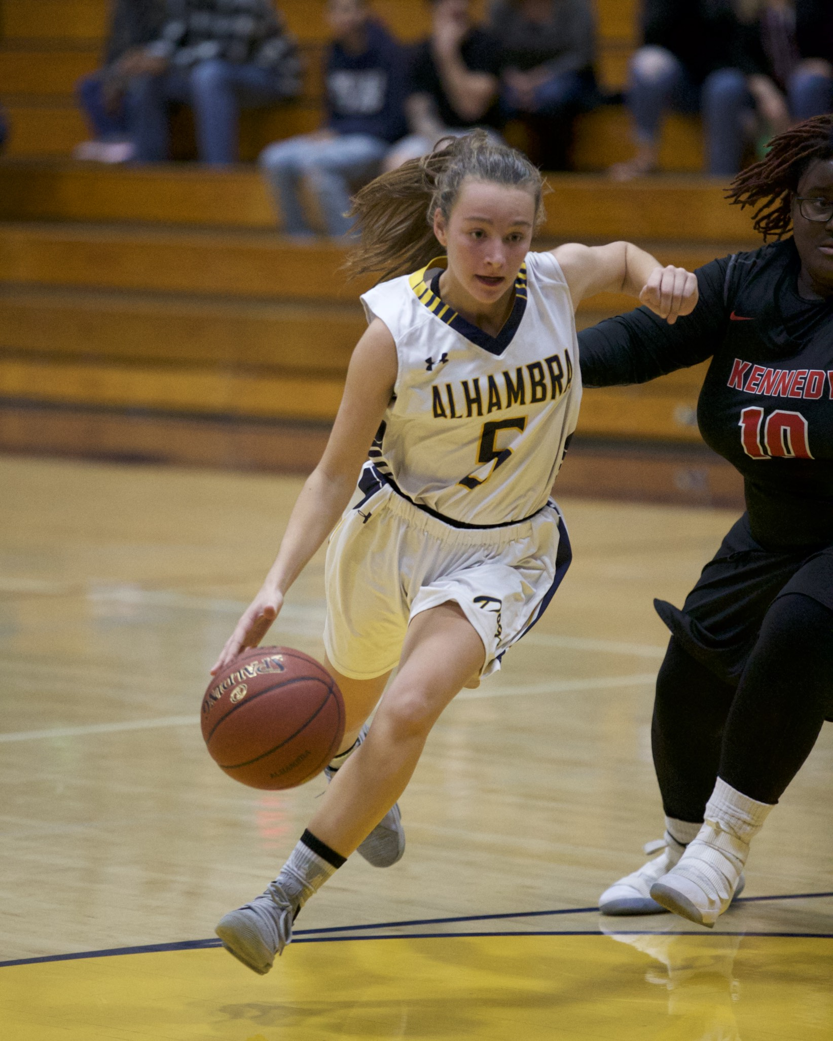 Alhambra Women's basketball vs Kennedy High School