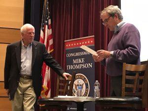 Mike Thompson and Mark DeSaulnier