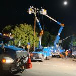 PG&E works to restore power